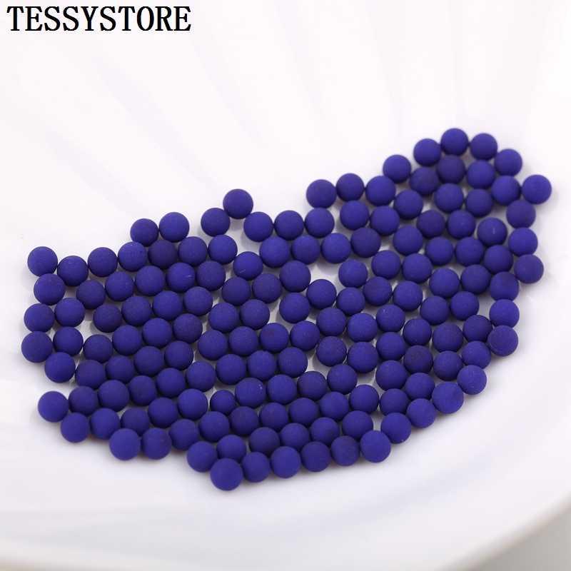 3mm perles de verre japonais de haute qualité perles de cristal Non poreuses en vrac pour la fabrication de bijoux collier charmes accessoires faits à la main