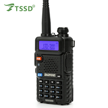 Original Baofeng UV 5R Walkie Talkie 5W Dual Band Portable Radio UHF&VHF 136-174MHz&400-520MHz 5r