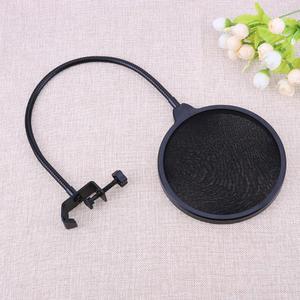 Image 5 - Micro Flexible vent écran Pop filtre Portable Studio enregistrement parlant chant condensateur Microphone filtre montage masque