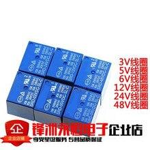 50Pcs Relais SRD 05VDC SL C SRD 09VDC SL C SRD 12VDC SL C SRD 24VDC SL C 5V 9V 12V 24V 10A 250VAC 5PIN T73