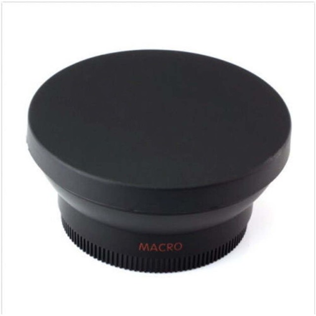 FOTGA 58mm 0.45x Wide Angle & Macro Conversion Fixed Focus Lens 0.45x 58 for CANON NIKON SONY 58MM Lens 6