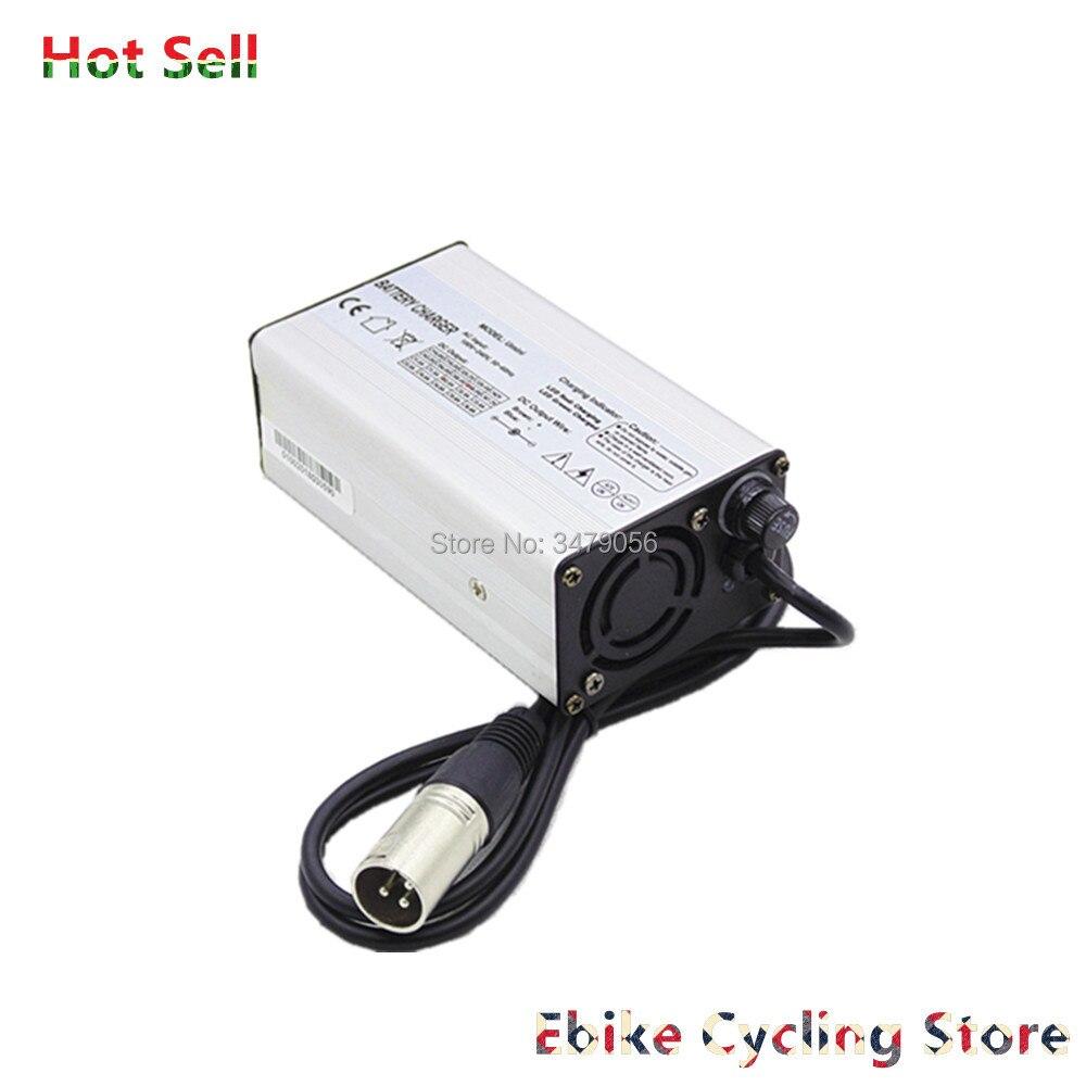 Free Shipping Ebike battery charger 7S 10S 13S 14S 24v 36v 48v 52V 2A 2 5A