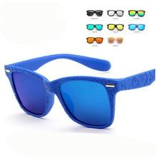 RHAMAI Новые популярные детские солнцезащитные очки для мальчиков детские солнцезащитные очки для девочек детские солнцезащитные очки для мальчиков Gafas De Sol с бесплатной сумкой
