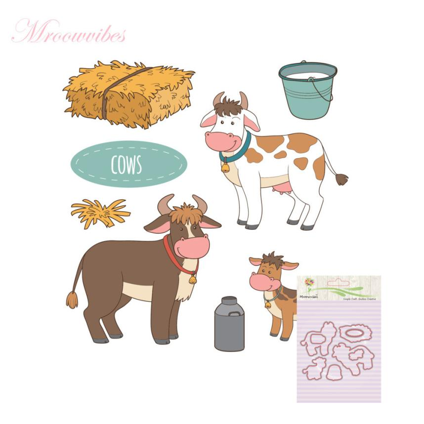 House LC New Metal Cutting Dies Stamp Stencils DIY Scrapbooking Photo Album Decor Cards N 17Oct17 Drop Ship pig silicone clear stamp metal cutting dies stencil frame scrapbook album decor clear stamps scrapbooking accessories