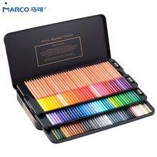 Marco Reffine 24/36/48 Colori Ad Olio Matita di Colore Prismacolor di Legno Matite Colorate per Artista Schizzo Scuola di Disegno forniture per ufficio