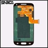 Sineda Écran lcd Pour Samsung Galaxy S4 mini i9190 i9192 i9195 LCD avec Écran Tactile Digitizer Assemblée blanc, noir, foncé bleu