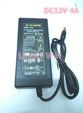 12V4A DC 12V 4A AC 110-240V LED light power adapter LED Power Supply Adapter Transformer for LED strip 5050 2835 DC 5.5*2.5mm
