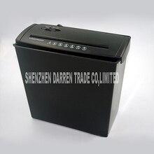 1pc A606B Electric Mini Shredder File Shredder Strip Office Home High Power Electric Shredding 220V 140W