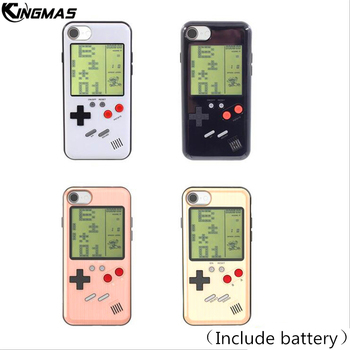 New Four-color Retro Phone Case for iPhone 6s 7 8 Plus 6 cases Play Nintendo Tetris Gameboy iPhone shell cover Gift For Child iphone 6