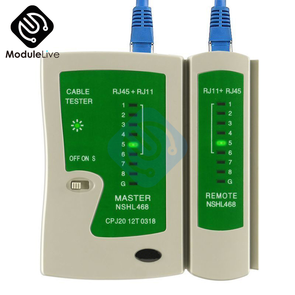 RJ45 RJ11 CAT5 CAT 6 UTP Network Lan Cable Tester Test Tool QJY99