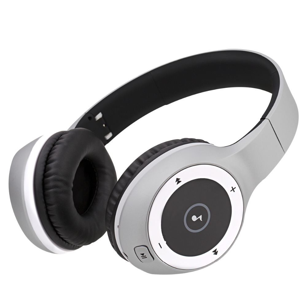 Hifi Bluetooth Headphones Wirless and Wired Headset Folding Stereo Bass Sound Noise Cancelling Music Headphones With Mic insermore active noise cancelling headphones wired bass stereo surround headset with mic flight headband for iphone xiaomi iq 3