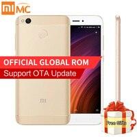 Original Xiaomi Redmi 4X Pro 3GB 32GB Smartphone 5 0 HD Snapdragon 435 Octa Core 4100mAh
