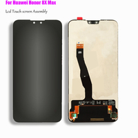 Original In stock For Huawei Honor 8X Max 7.12/ Honor 8X 6.5 LCD screen Digitizer Assembly 100% Test work