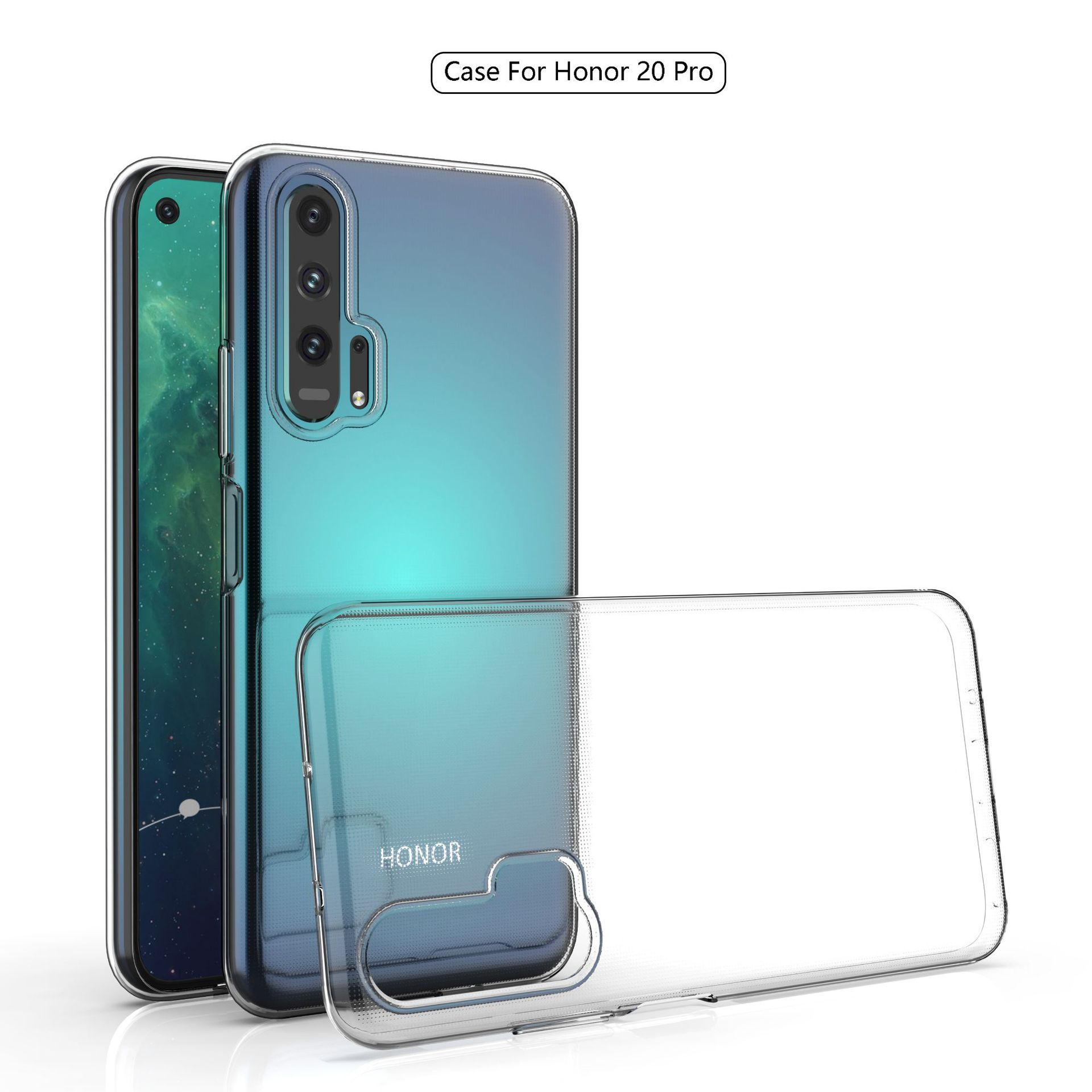 Ultra-thin Transparent Soft TPU Case For Huawei Honor 20 Pro Slim Protective Back Cover For Huawei Honor 20 20pro Honor20 Shell
