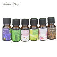1pcs 12 Scents Essential Oils Water-soluble Oil Humidifier Oil for Message, Spa, Oil Burner, Humidifier, Reed Diffuser