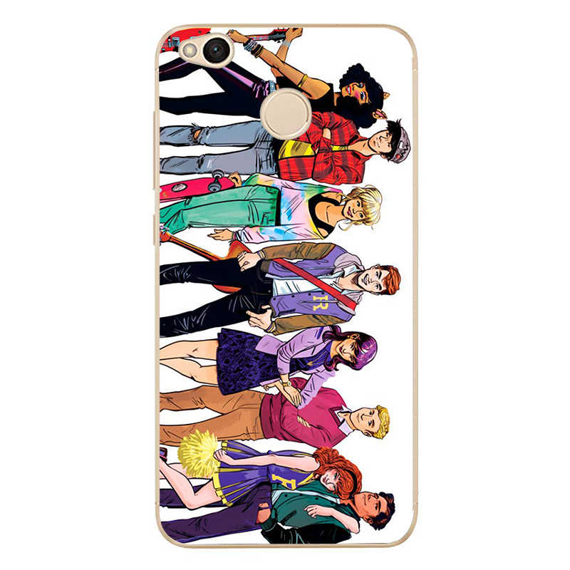 Caja de teléfono de TPU de silicona suave de la cubierta de la TV de Riverdale para redmi4A 4X5 5a 5 Plus note4 4X5 Para xiaomi4 5 6X8 note3 miX2S