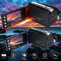 HIPERDEAL HD-30 2.4HD Inch Screen Video   Camcorder   HD 1080P Handheld Digital Camera 4X Digital Zoom DV Recorder Digital Camera