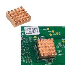 Heat Sink Copper Made Dissipate heat For Kit Raspberry Pi 3 Model B Board Rasp PI3 1GB RAM Quad Core For CPU