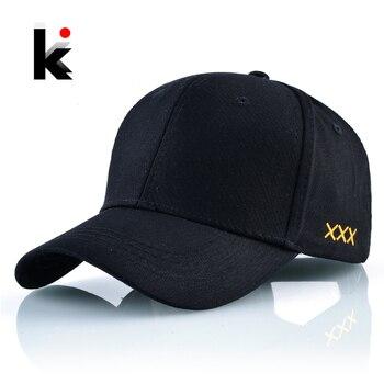 Sólido algodón papá sombreros para hombres y mujeres Unisex Snapback gorra  de béisbol al aire libre de la muestra huesos casuales Hip Hop Casquette  negro ... 9991d529326