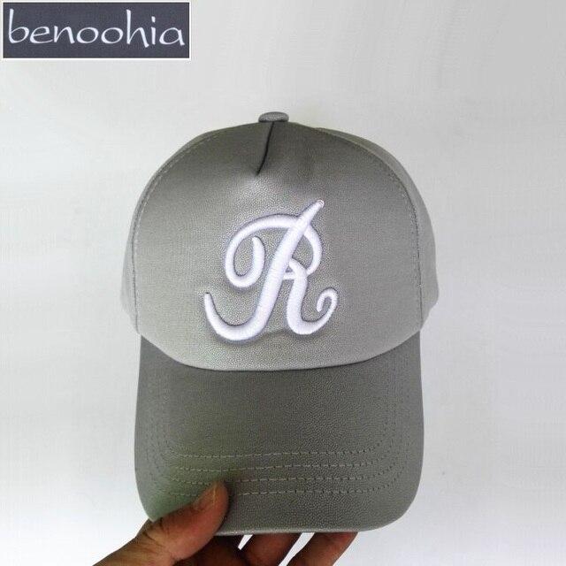 Bbs066 hotsale invierno hombres gorra de béisbol nueva letra r bordado  SnapBack sombrero ajustable Sol casquette 3471aea17ee