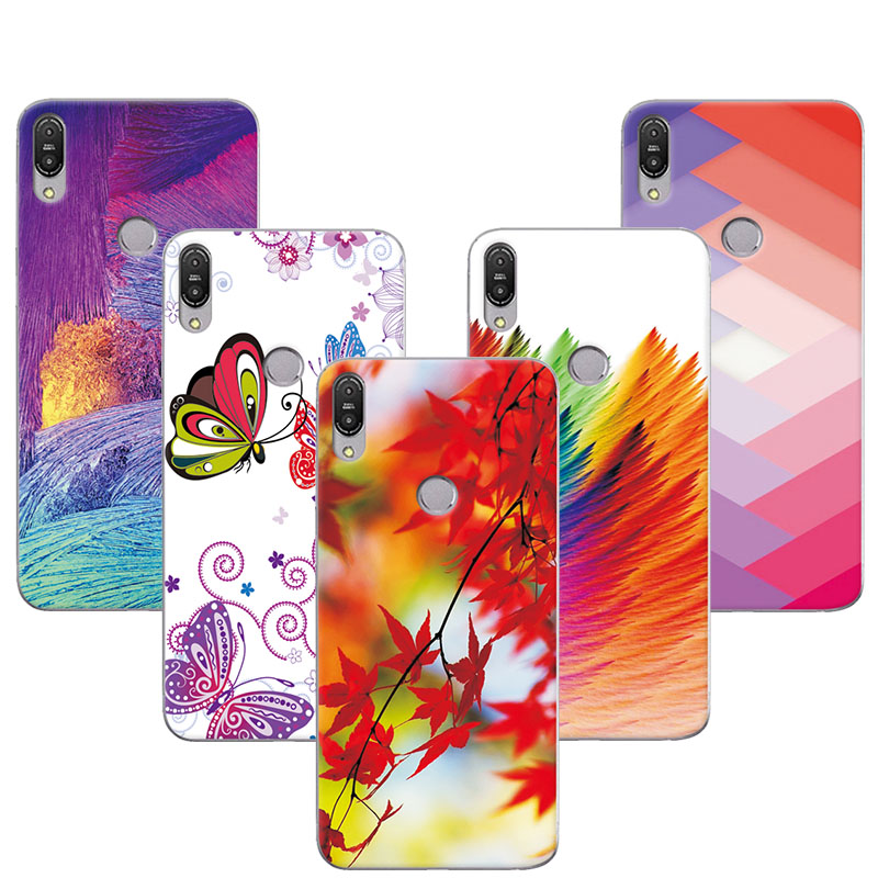 adlucky Colorful Exotic Printed Phone Case For ASUS Zenfone Max Pro M1 ZB601KL Cover For ASUS Zenfone Max Pro M1 ZB602KL X00TD