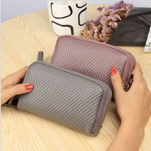 Long Women Wallet Genuine Leather 2 layers Zipper Wristlet Bag Big Capacity Lady Clutch Coin Purse Mobile phone bag