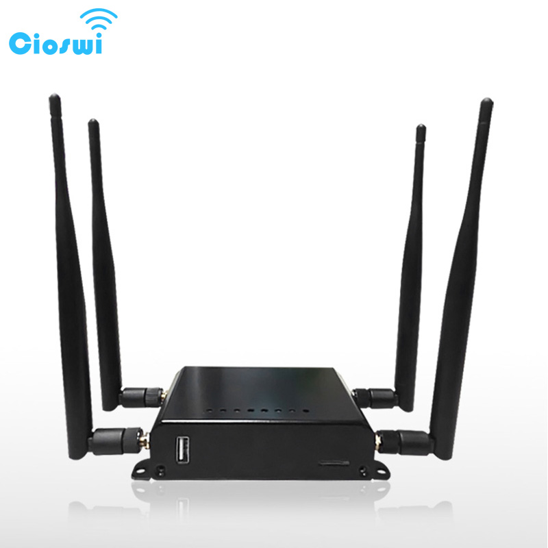 English Version openWRT 3g 4g LTE dual band 11AC openWRT router wi fi with sim card slot 1 WAN 4 LAN port