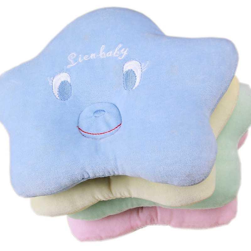 Posicionador de cabeza durmiente de bebé con forma de estrella de cinco puntas