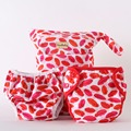 Big Kiss Purrrrfect O.N.E. Diaper Combo (Cloth Diaper+Swimming Diaper+Wet Bag)