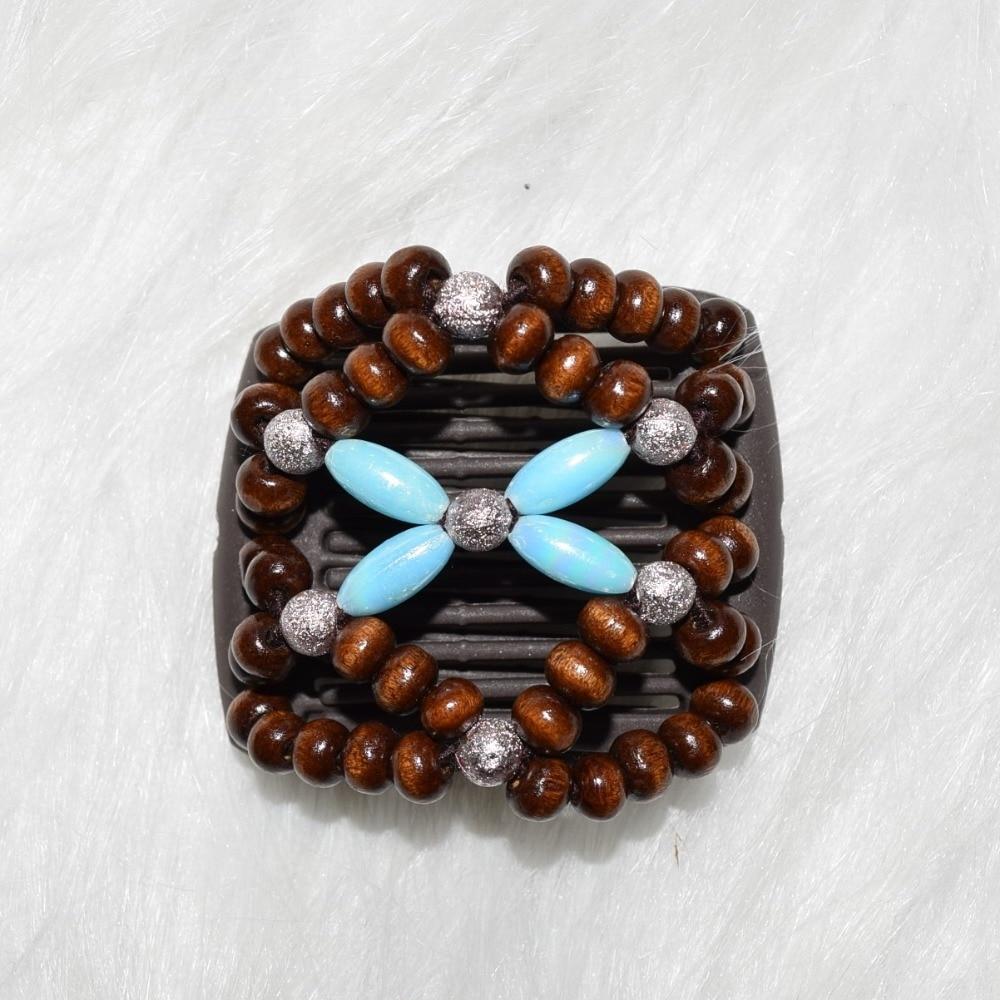 Small Size Beads: Blue Beautiful Beads Small Size Black Magic Comb 12 Pcs