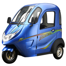 Трехколесный электрический самокат для взрослых 20AH 1000 Вт удобный полностью закрытый аккумулятор дифференциальный двигатель электромобиль