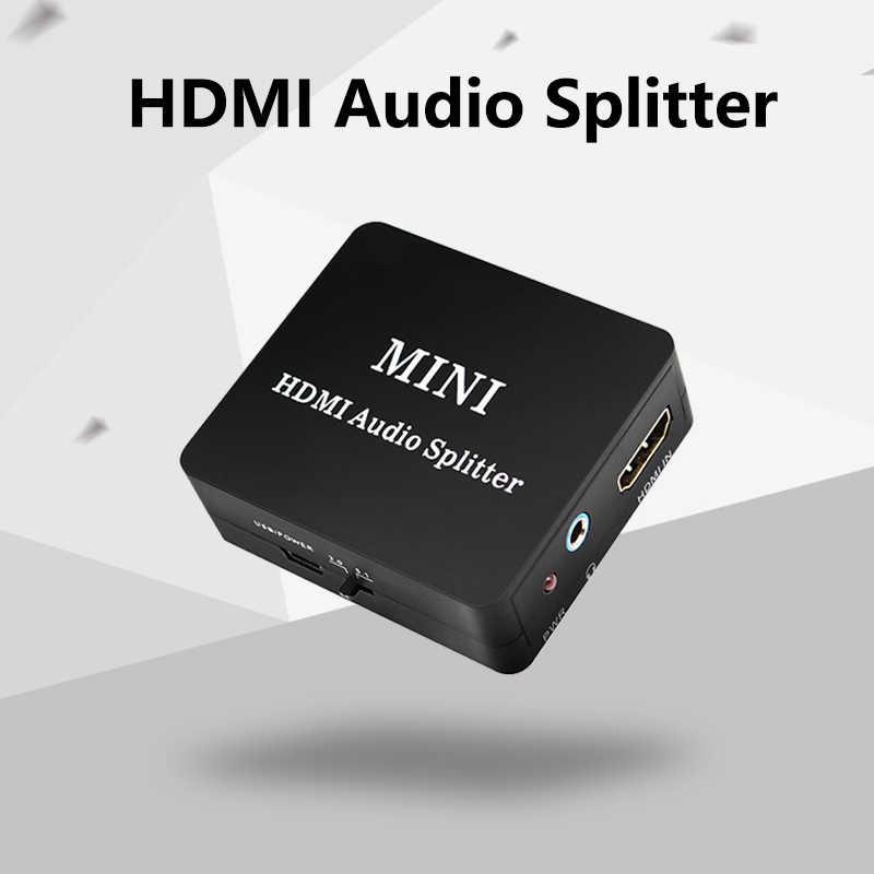 HDMI コンバータオーディオスプリッター Hdmi SPDIF L/R オーディオビデオ抽出の usb ケーブル