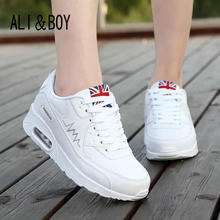 2017 fashion flats women trainers breathable woman shoes casual women flats zapatillas mujer