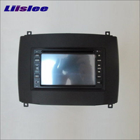 Liislee For Cadillac SRX 2004~2009 Radio Stereo CD DVD Player GPS NAVI Navigation System Double Din Car Audio Installation Set