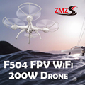Linces Ciência e Tecnologia RC Zangão Helicóptero de Controle remoto 2.4G 4CH RTF RC 6-Axis Quadcopter Com FPV 200 W câmera HD