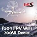 Linces Ciencia y Tecnología RC Drone Helicóptero de Control remoto 2.4G 6-Axis 4CH RC del RTF Quadcopter Con FPV 200 W cámara HD