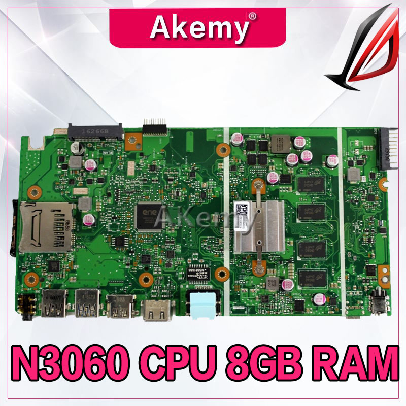 X541SA N3060 CPU 8GB RAM Mainboard For ASUS X541 X541S X541SA laptop motherboard 100% Tested 90NB0CH0-R00020X541SA N3060 CPU 8GB RAM Mainboard For ASUS X541 X541S X541SA laptop motherboard 100% Tested 90NB0CH0-R00020