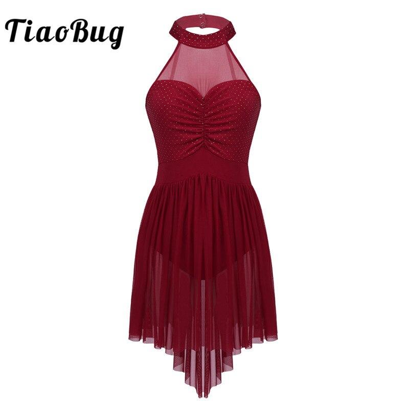 tiaobug-women-halter-polka-dots-irregular-tulle-hem-font-b-ballet-b-font-tutu-dress-gymnastics-leotard-ballerina-lyrical-competition-dancewear