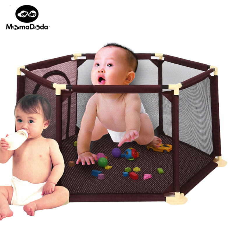 kids play toy tent  hexagon teepee baby playpen mesh indoor outdoor ocean ball pool infant tents for children safety  tipi купить