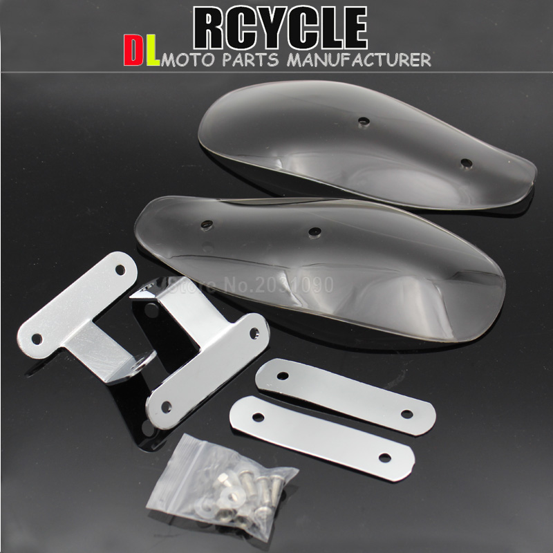 Motorcycle hand guard wind shield protector for honda for harley touring 10mm  Мотоцикл