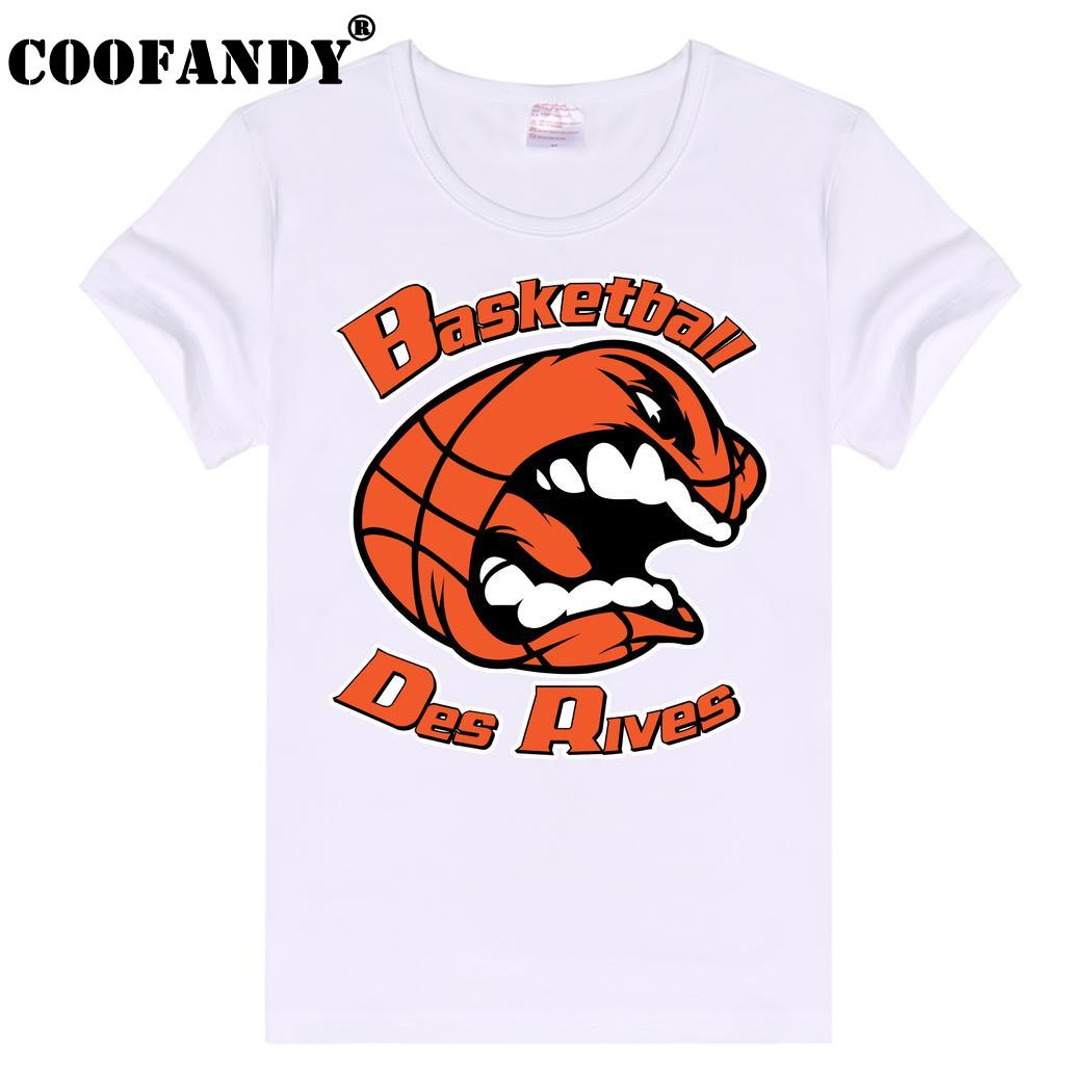 None Basic Casual Women Plain Crew Neck Slim Fit Soft Short Sleeve T-Shirt White Basketball des rives