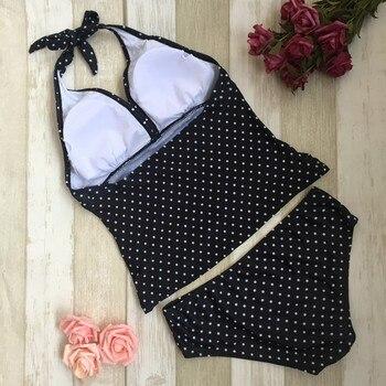 Women's Maternity Polka Dot Printed Swimsuit