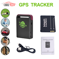 Real Time GPS Mould GSM GPRS Car GPS Tracker TK102 Quad Band With One Battery Vehicle