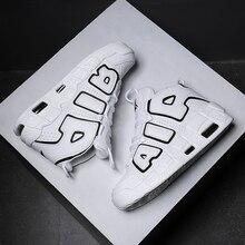 Новые брендовая Баскетбольная обувь мужские и женские высокие спортивные воздушные подушки Jordan Hombre спортивные мужские туфли удобные детские кроссовки
