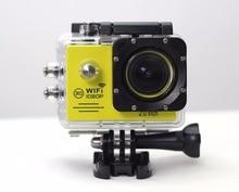 Авто видеорегистратор Действие Камера sj7000 Wi-Fi 2.0 Экран Спорт Экстрим мини-камера рекордер Морской Дайвинг 1080 P HD DV как go Pro Hero 4