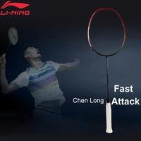 Li Ning 3D CALIBAR 900B Professional Badminton Racket Chen Long Rackets LiNing Single Sport Rackets AYPM264(AYPM428) ZYF268