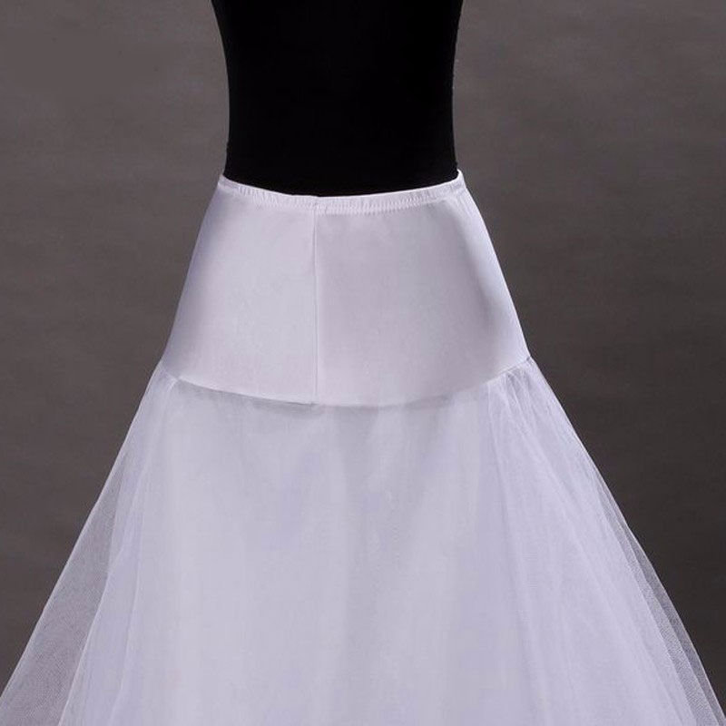 2018 New Arrives 100% High Quality A Line Tulle Wedding Bridal Petticoat Underskirt Crinolines for Wedding Dress
