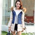 Natural Real Fur Winter Jacket Women Hood Coat 2016 Brand New Big Raccoon Fur Collar Casual Long Slim Warm Women Parka