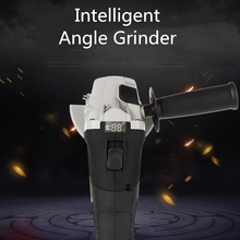 New intelligent angle grinder brushless lithium electric  industrial grade electric hand grinding and polishing machine tool недорого