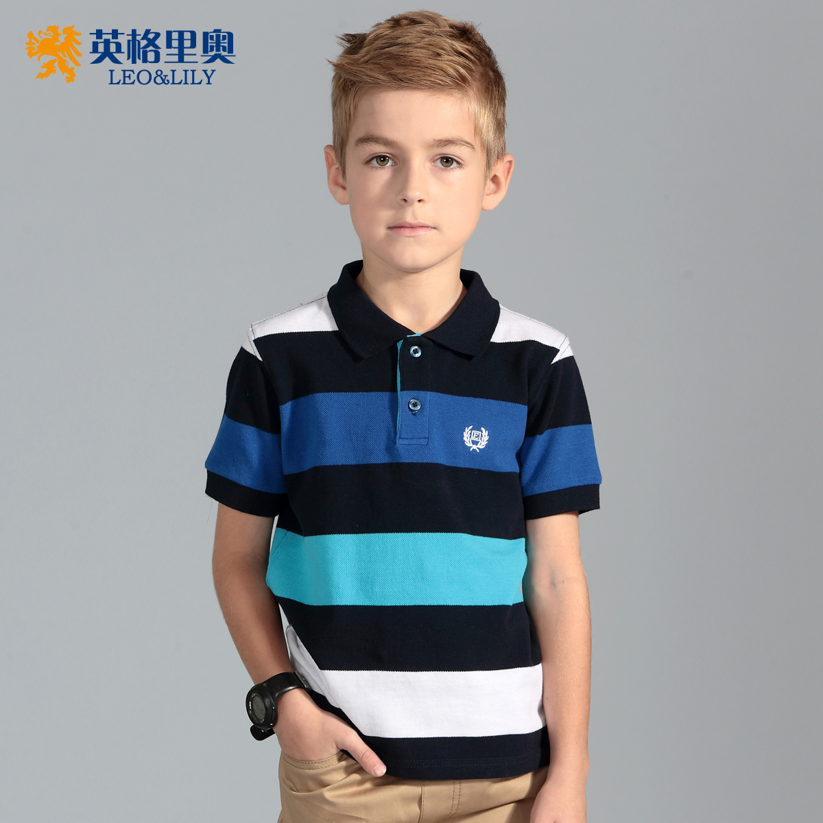 Group Wearing Polo Shirts